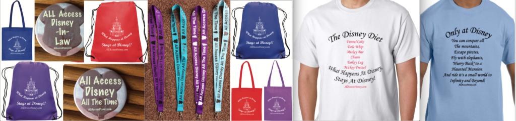 All Access Disney merchandise
