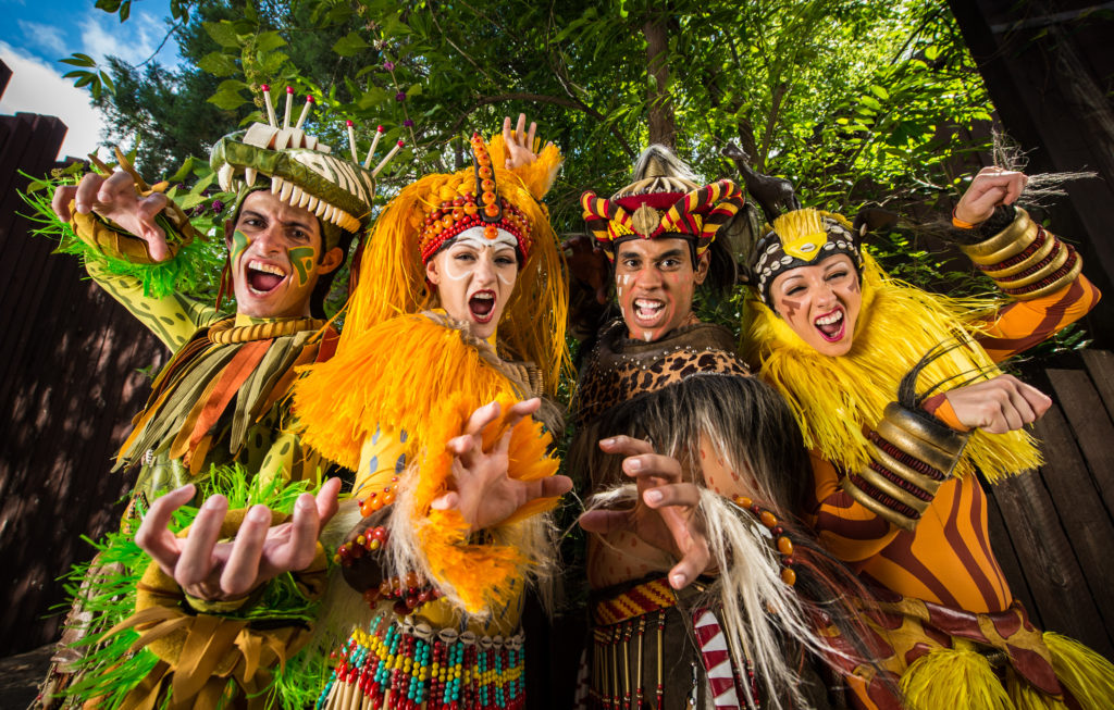 Festival of the Lion King cast members