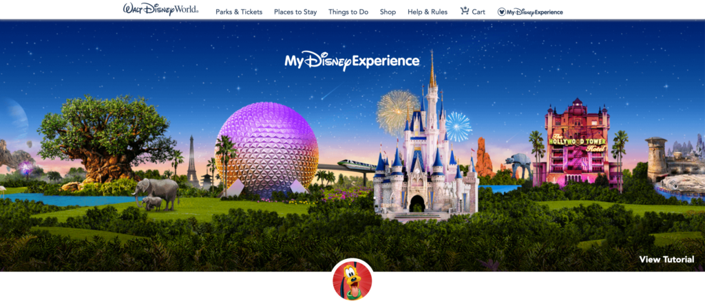 My Disney Experience Cover Photo