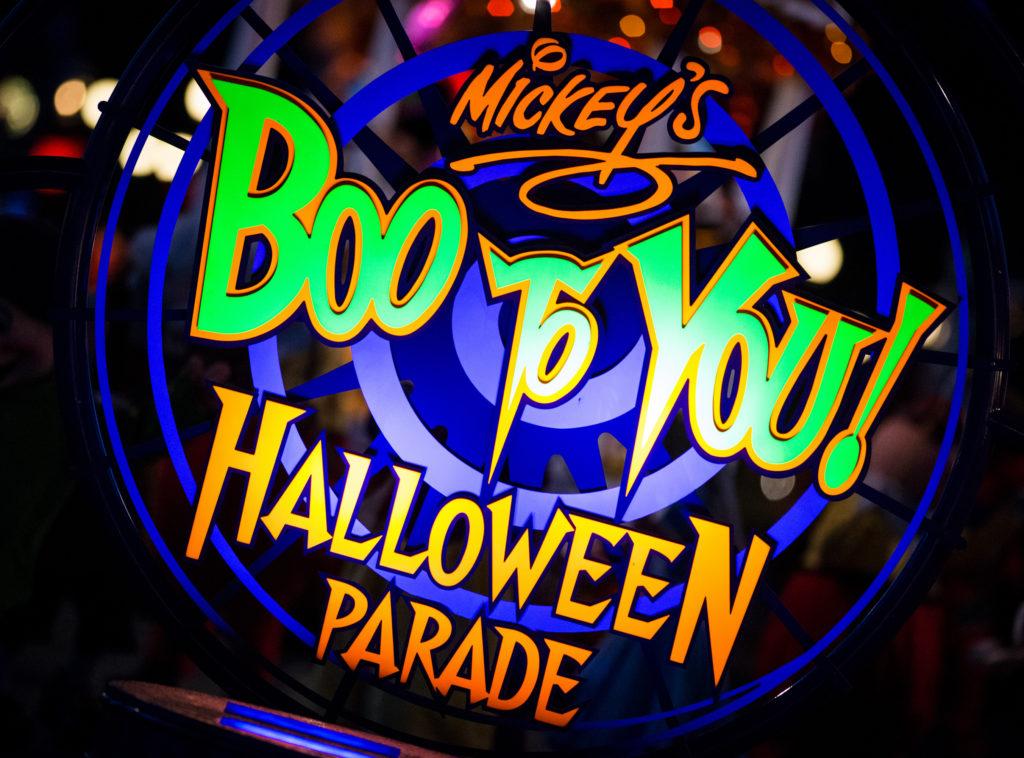 Boo To You parade sign