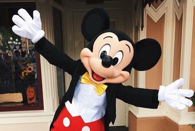 Mickey Mouse at Walt Disney World