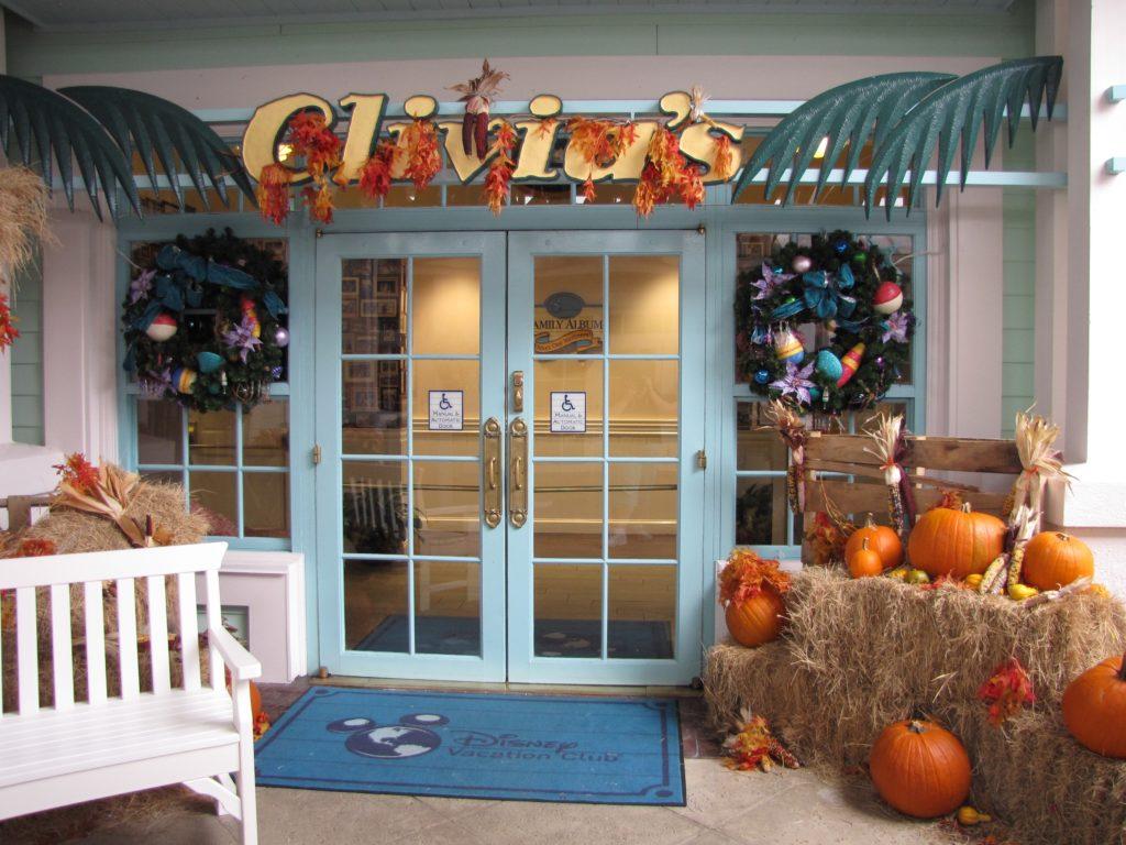 Olivia's entrance at Walt Disney World's Old Key West Resort