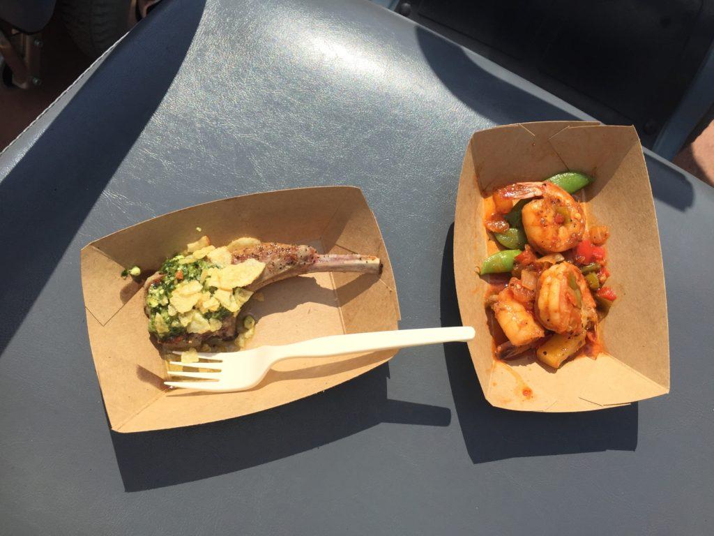 Food & Wine Festival--food from Australia.