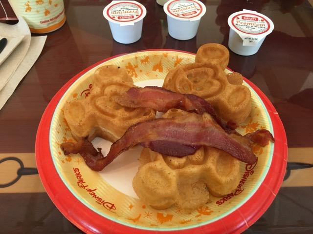 Gluten-Free Breakfast at Walt Disney World