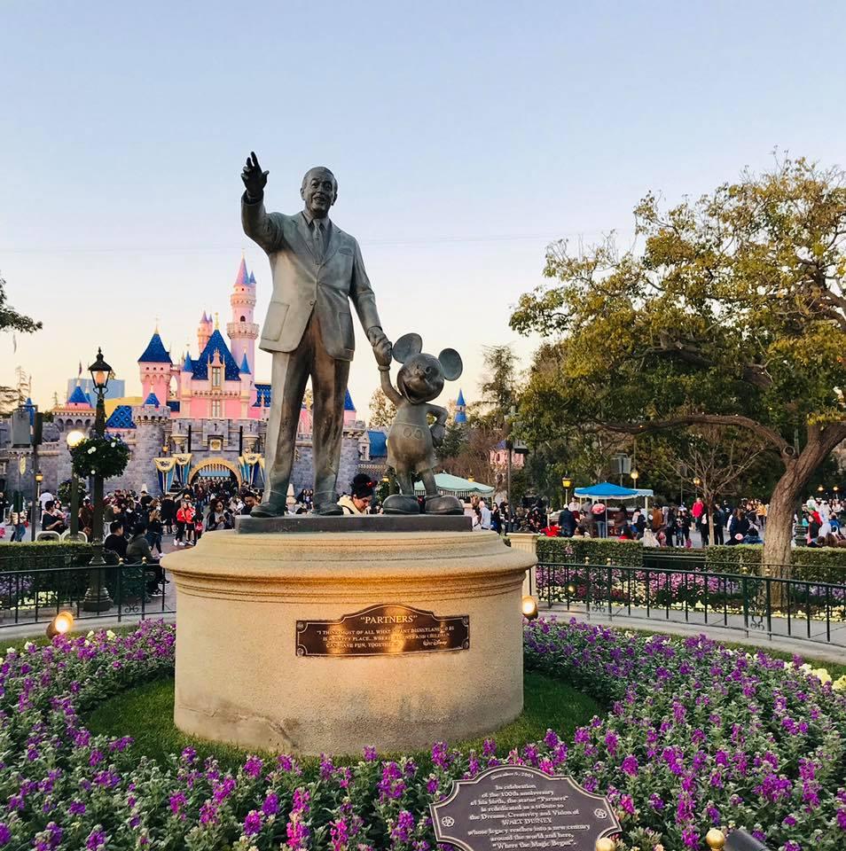 Partners stature at Disneyland